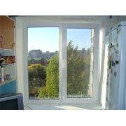 Окно 2000*2000 пластиковое в спальню новой планировки фото