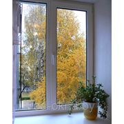 Окно ПВХ 2000*2000 в детскую комнату фото