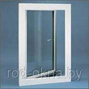 Окно (ПВХ) 1600*1000 BrusBox 60-3 пр-во РОССИЯ двухкамерное пластиковое фото