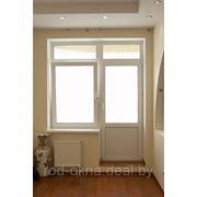 Балконный блок 2300*1800 фото