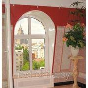Окно ПВХ пластиковое 1100*1100 в детскую комнату фото