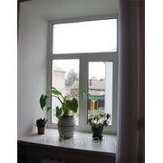Окно (ПВХ) 1400*1800 пластиковое в кухню или спальню фото