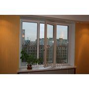 Окно ПВХ 2000*3100 платиковое в зал брежневской, хрущевской планировки фото