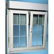 Окно (ПВХ) 1400*2000 пластиковое в кухню фото