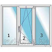 Окно ПВХ 1300*1800 пластиковое в зал новой планировки фото