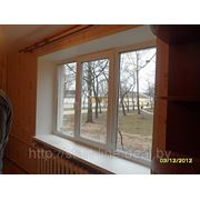 Окно (Proplex) в кирпичном доме фото