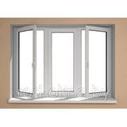 Окно ПВХ 1900*2600 пластиковое в кухню или спальню брежневской планировки фото