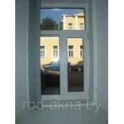 Окно ПВХ 1300*1400 пластиковое в спальню новой планировки фото