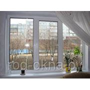 Окно 700*2000 Окно (ПВХ) платиковое в зал брежневской, хрущевской планировки фото