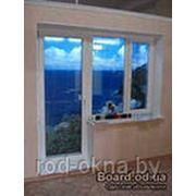 Окно ПВХ пластиковое + балконная дверь фото