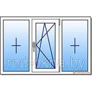 Окно ПВХ 1300*2200 пластиковое в кухню новой планировки фото