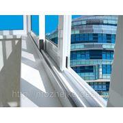 Балконные рамы из алюминия фото