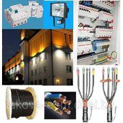 Наружное и внутреннее электроснабжение и электроосвещение фото