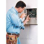 Установка охранной сигнализации фото