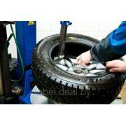 Монтаж шины на колесный диск R13 - R15 фото