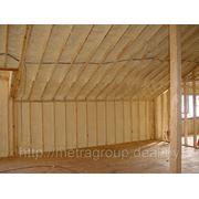 Теплоизоляция мансард, крыш, перекрытий. фото
