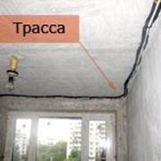ЗАКЛАДКА ФРЕОНОПРОВОДА (трассы) фото