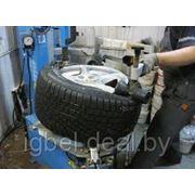 Монтаж шины на колесный диск R16 - R17 фото