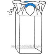 Контейнер мягкий специализированный для сыпучих продуктов из полипропиленовой ткани,верх. сборка,2-х стропный фото