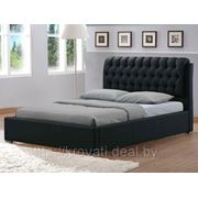 Кровать Casa (160х200) Matt PU Brown, экокожа фото