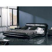 Кровать из кожи K1377 (180х200) фото