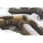 Диагностирование трубопроводов пара и горячей воды, тепловые сети фото