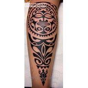 Татуировка Полинезия (1 сеанс) фото