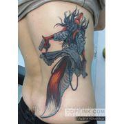 Татуировка Лисица (3 сеанса) фото