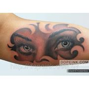 Татуировка Глаза (1 сеанс) фото