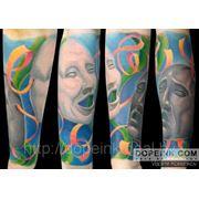 Татуировка Маски (4 сеанса) фото