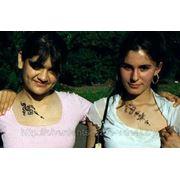 Временная татуировка хной или блестками на вашем празднике! фото