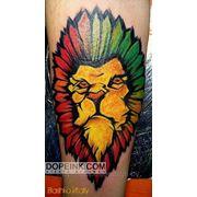 Татуировка Лев (1 сеанс) фото