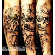 Татуировка Череп (1 сеанс) фото