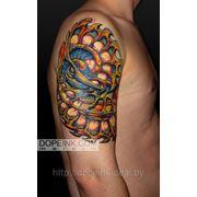 Татуировка Абстракция (2 сеанса) фото