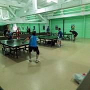 Обучение игре в настольный теннис фото