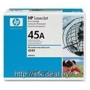 Заправка Hewlett -Packard HP LJ 4340 black фото