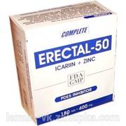 Эректал-50 вместо виагры, икарин+цинк для эрекции и потенции фото