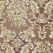 "Мебельная ткань жаккард ""Барокко"" (коричневый) фото"