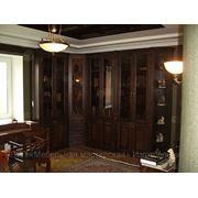 Изготовление кабинета, библиотеки фото