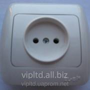 Розетка ZIRVE белая FIXLINE 501-0201-215Y фото