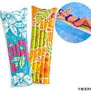 Матрац надувной для плавания фэшн пестрый 59720 фото