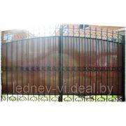 Ворота комбинированные фото