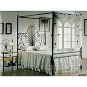 Кованая мебель (кровати) фото
