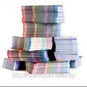 Печать листовок 100х210 глянцевые фото