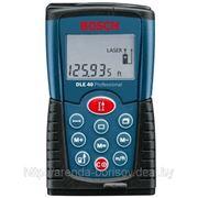 Аренда лазерного дальномера Bosch DLE 40 Professional в Жодино фото