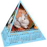 Календарь пирамидка фото