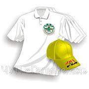 Нанесение логотипов на одежду для промоакций, размер А6 фото