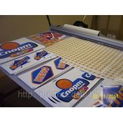 Изготовление наклеек, стикеров фото