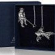 Argenta Серебряный Ионизатор воды Рыбак, пр.925 Argenta - 780ИЗ00001 33 г фото