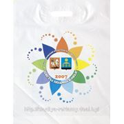 Печать логотипа на пакетах-большие тиражи фото